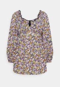 Missguided Petite - MILKMAID SKATER DRESS  - Denní šaty - purple - 4