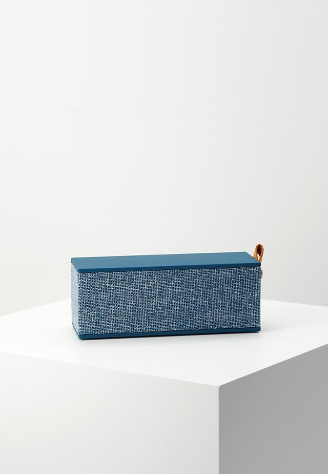 ROCKBOX BRICK FABRIQ EDITION BLUETOOTH SPEAKER - Altavoz - indigo