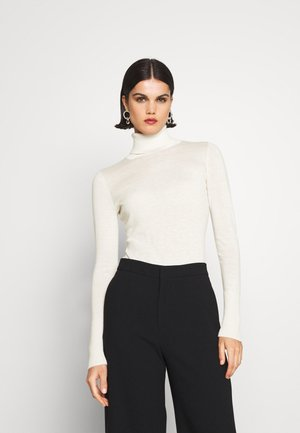 FASHION ROLL NECK - Jumper - cool natural