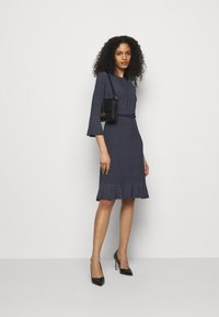 Lauren Ralph Lauren - PRINTED DRESS - Jersey dress - navy/colonial - 1