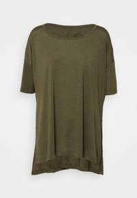Nike Performance - YOGA LAYER PLUS - Camiseta básica - cargo khaki/medium olive - 0