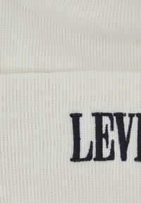 Levi's® - SMALLER SERIF LOGO BEANIE - Beanie - regular white - 3
