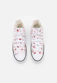 Converse - CHUCK TAYLOR ALL STAR  - High-top trainers - white/red/black - 3