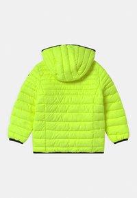 CMP - BOY FIX HOOD UNISEX - Zimní bunda - yellow fluo - 1
