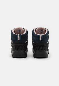 CMP - KIDS RIGEL MID SHOE WP UNISEX - Hiking shoes - asphalt/rose - 2