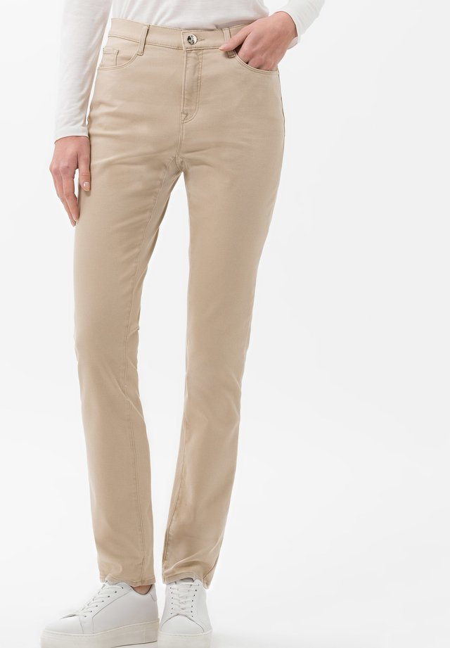 STYLE MARY - Jeans slim fit - sand