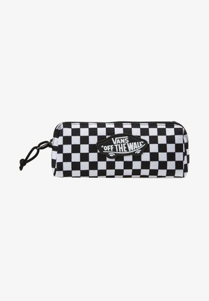 PENCIL POUCH - Pencil case - black/white