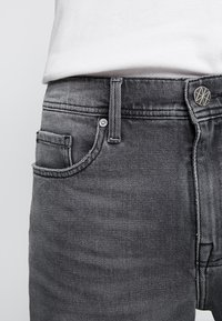 Amsterdenim - MOKUM - Shorts di jeans - beton dorp - 3