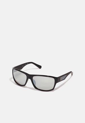 Sunglasses - shiny black/smoke mirror