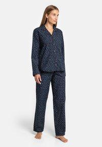 Seidensticker - Pyjama - blau - 1