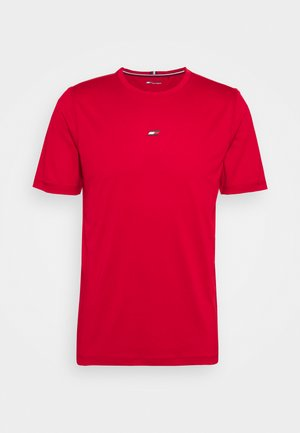 MOTION FLAG TRAINING TEE - T-shirt basic - red