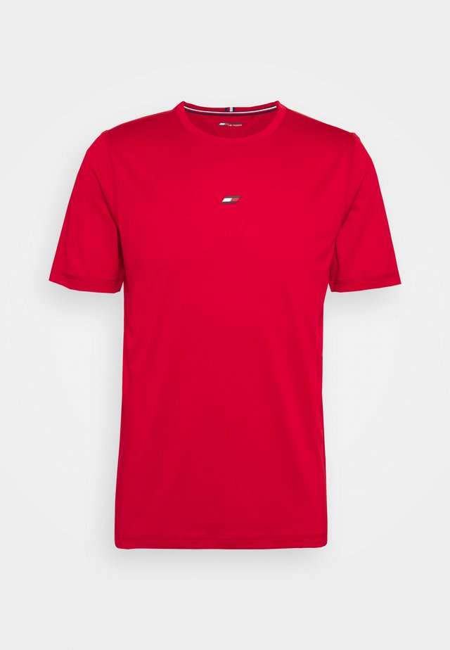 MOTION FLAG TRAINING TEE - T-shirt basique - red