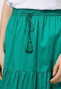 zero - A-line skirt - emerald green - 3