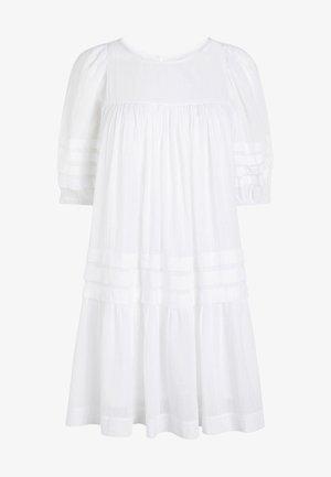 PINTUCK - Day dress - white