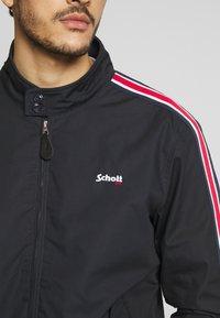 Schott - CABLE - Summer jacket - navy stripe - 4