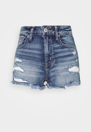 Jeansshorts - medium tinted indigo