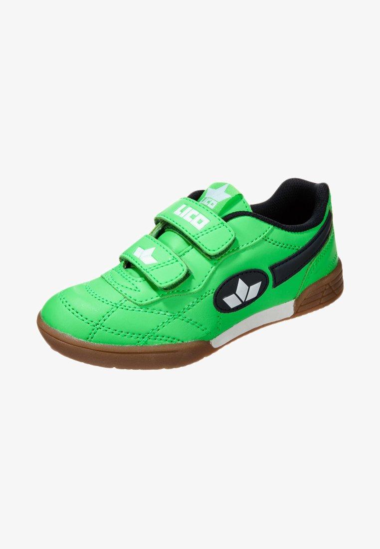 LICO - BERNIE - Sports shoes - grün/marine/weiß