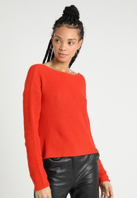 Even&Odd - Jumper - orange - 2