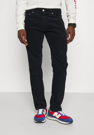KLONDIKE PANT ALBANY - Pantalon classique - dark navy rinsed