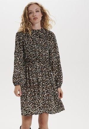 Sukienka letnia - black raw leo