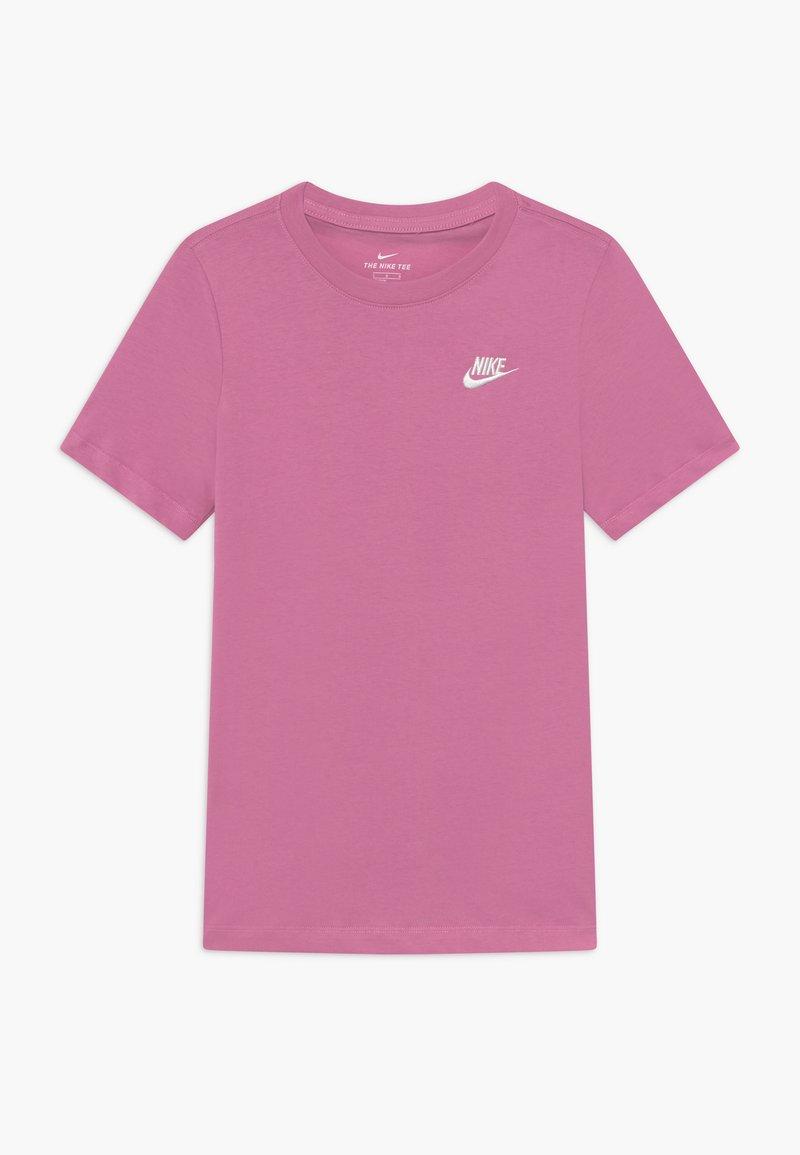 Nike Sportswear - FUTURA TEE  - Camiseta básica - magic flamingo/white