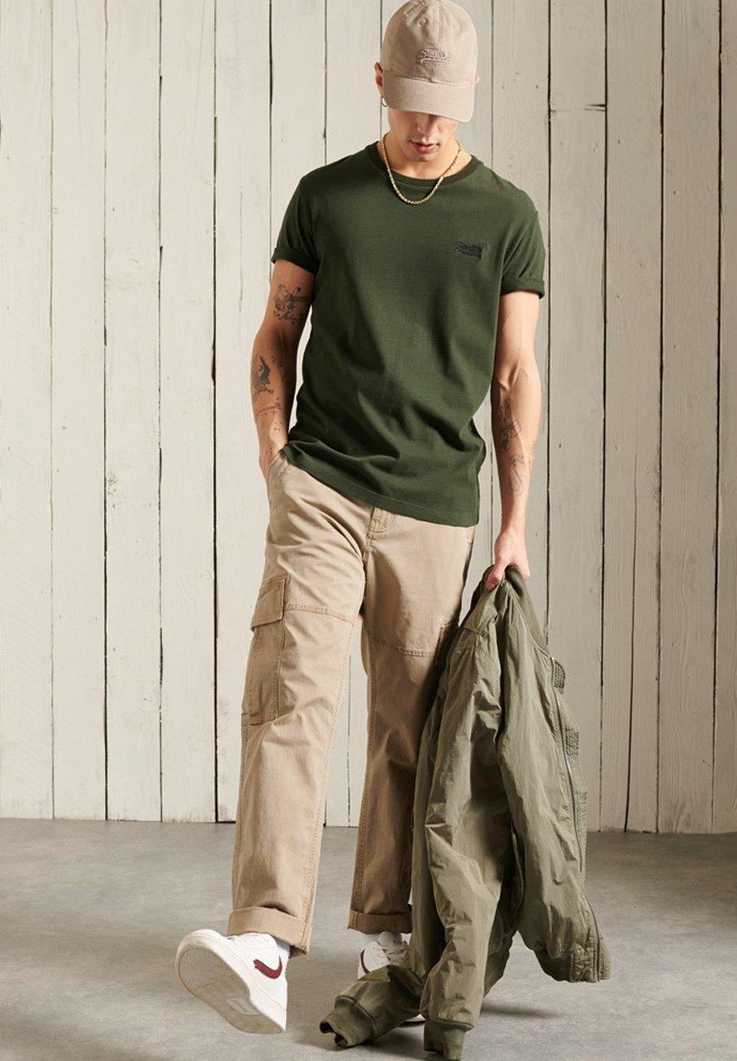 Herren VINTAGE EMBROIDERED  - T-Shirt print