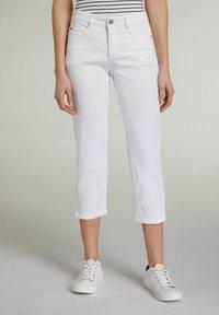 Oui - Trousers - optic white - 0