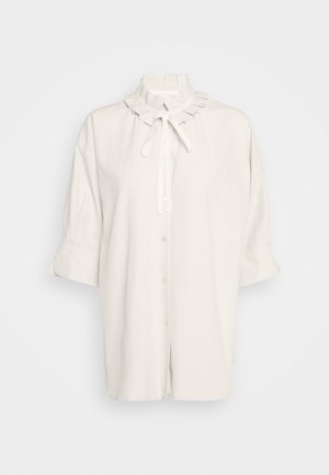 Button-down blouse - soft ivory