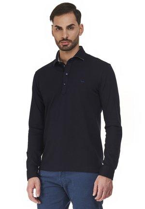 BASIC ML POLSO CAMICIA - Polo shirt - blu scuro