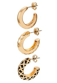 Pieces - PCCLARY EARRINGS 3 PACK - Náušnice - gold-coloured - 2