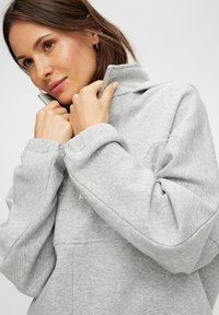 Pieces - Hoodie - light grey melange - 3