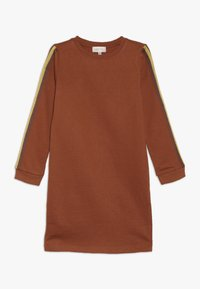 Kids ONLY - KONBETTY TAPE DRESS  - Vardagsklänning - ginger bread - 0