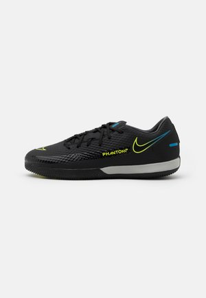 PHANTOM GT ACADEMY IC - Indoor football boots - black/cyber/light photo blue