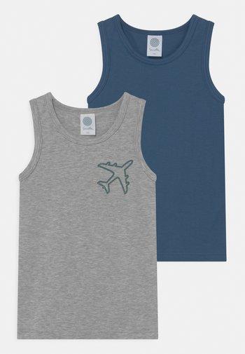 2 PACK - Undershirt - metallic melange
