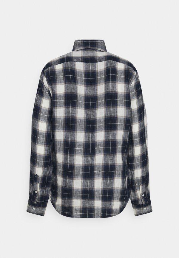 Polo Ralph Lauren PLAID - Koszula - navy/white/granatowy BEFZ