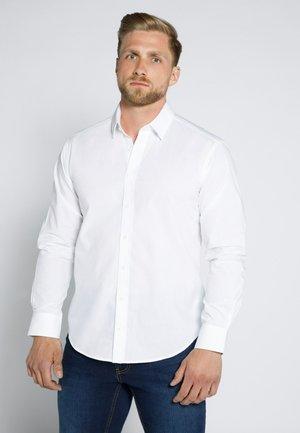 MANCHES LONGUES - Kostymskjorta - schneeweiß
