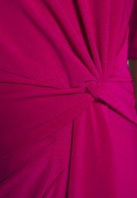 Lauren Ralph Lauren - MID WEIGHT DRESS - Day dress - bright fuchsia - 6