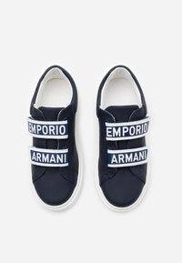 Emporio Armani - Trainers - dark blue - 3