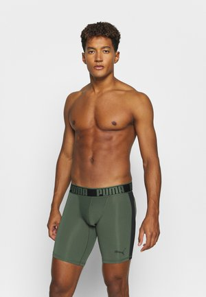 ACTIVE LONG BOXER PACKED - Panties - army green