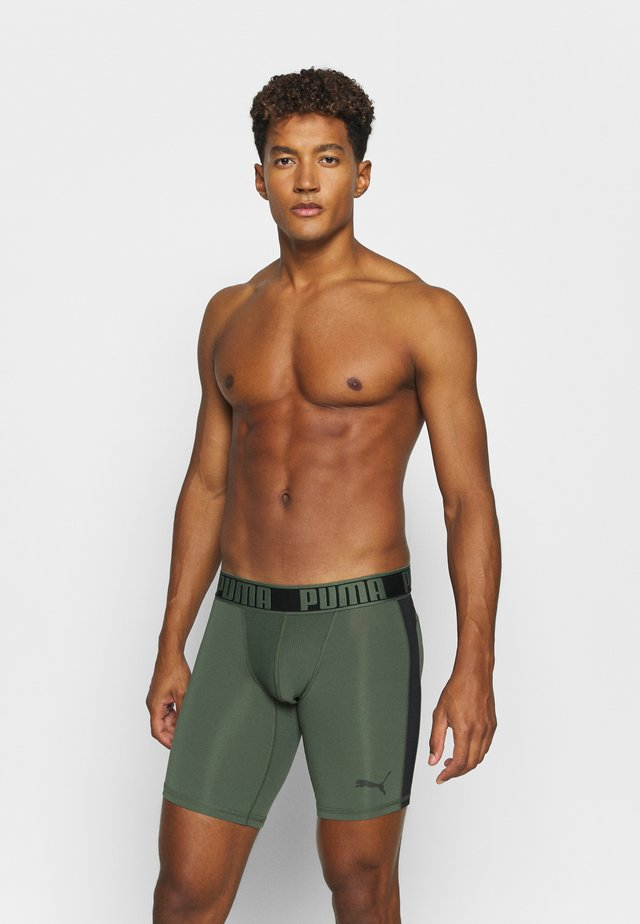ACTIVE LONG BOXER PACKED - Bokserit - army green