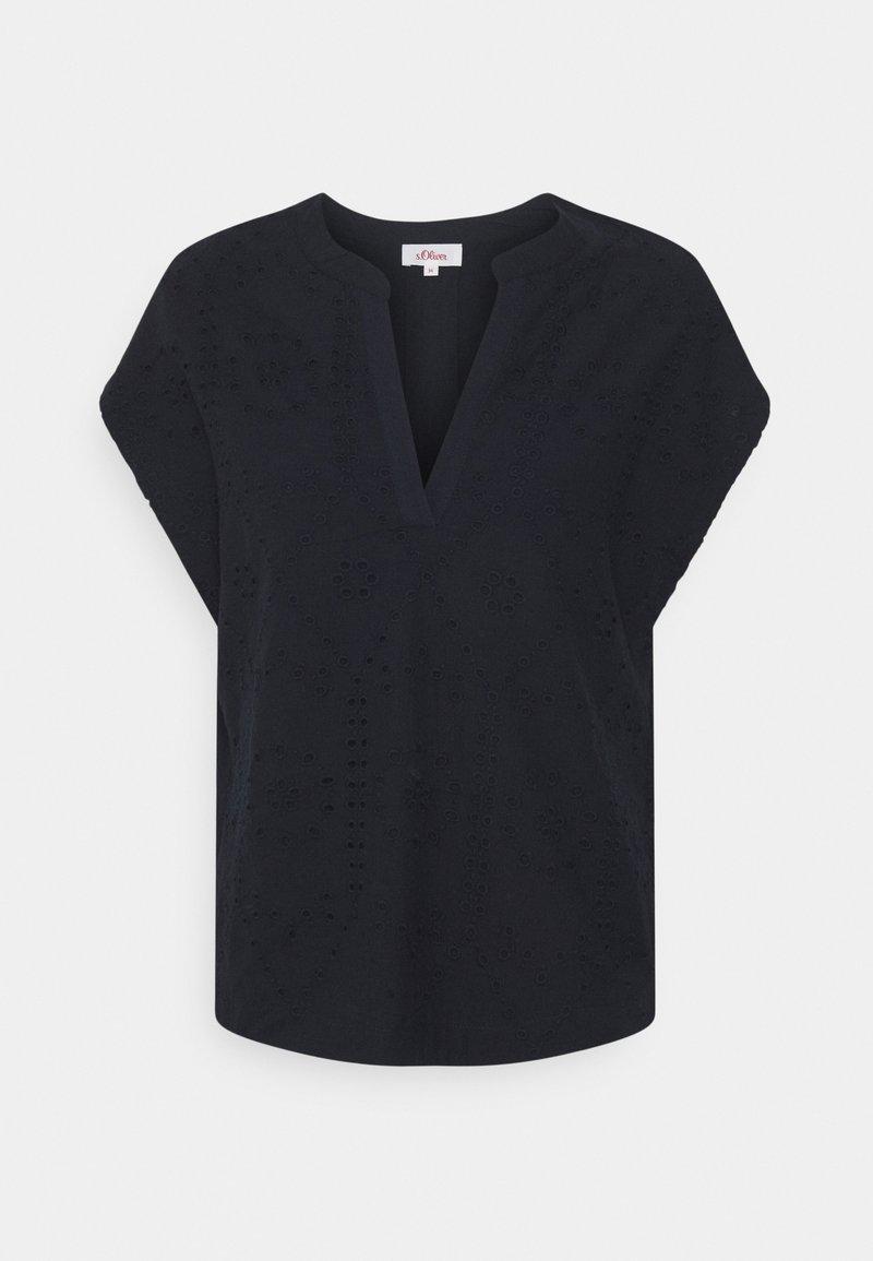 s.Oliver - T-shirt print - navy