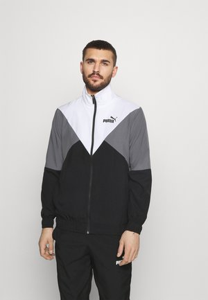 RETRO TRACKSUIT SET - Survêtement - black