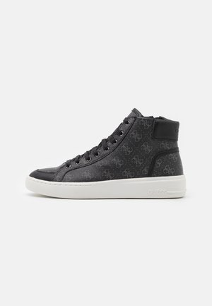 VERONA MID - High-top trainers - black/coal