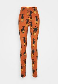 Monki - Leggings - Trousers - orange - 3