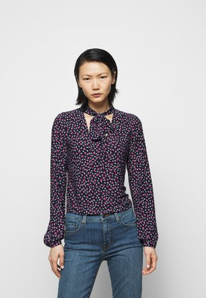 STRETCH POLY - Long sleeved top - french navy
