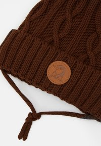 Mini Rodini - CABLE POMPOM UNISEX - Beanie - brown - 2