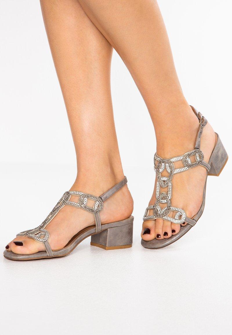 Alma en Pena - Højhælede sandaletter / Højhælede sandaler - oporto pewter