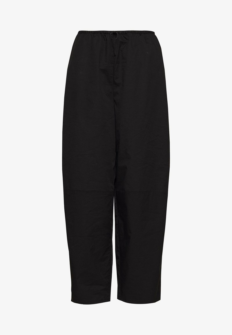 Weekday - PEARL TROUSERS - Tracksuit bottoms - black