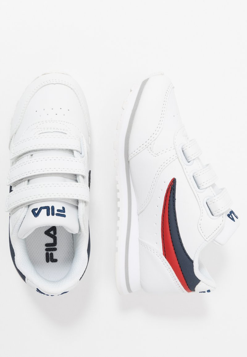 Fila - ORBIT KIDS - Sneakers - white/dress blue