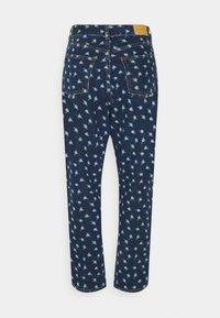 Monki - MINI FLOWER - Straight leg jeans - blue - 7